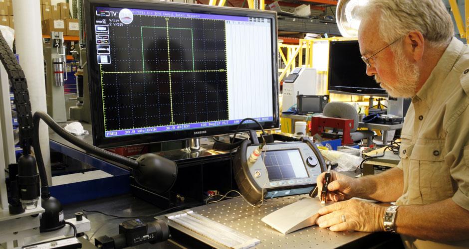 Eddy Current Testing Aircraft Engine Overhaul
