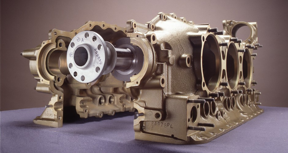 Three Axis Crankcase Machining